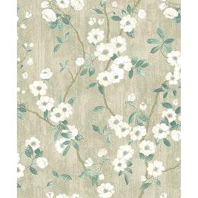 Spring Flower Taupe / Jaune