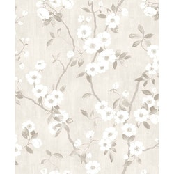 Spring Flower Blanc / Gris