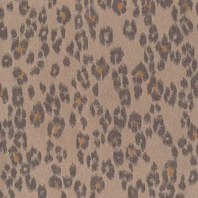 Leopardmönster Brun