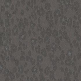 Leopardmönster Mörkgrå
