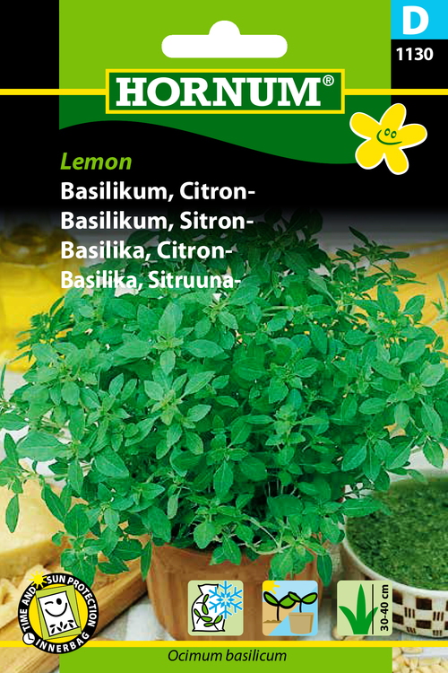 "Citron Basilika ""Lemon"""