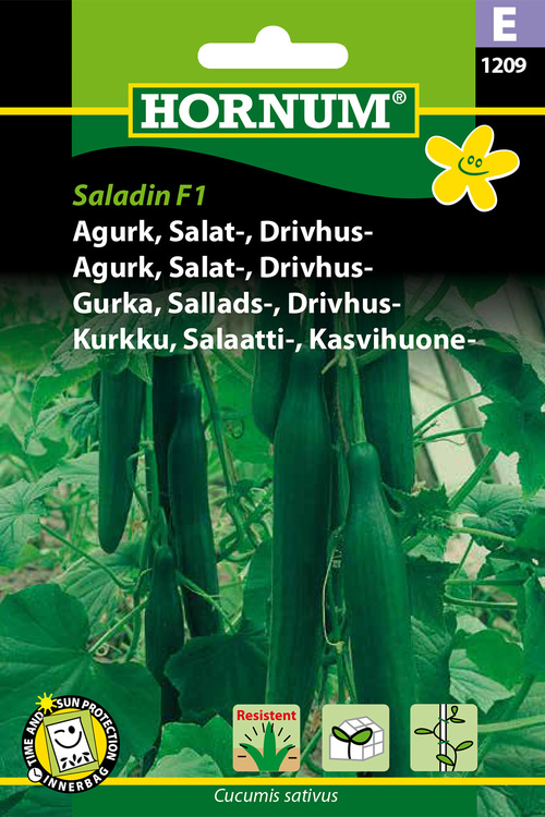 "Växthus-/Salladsgurka ""Saladin F1"""