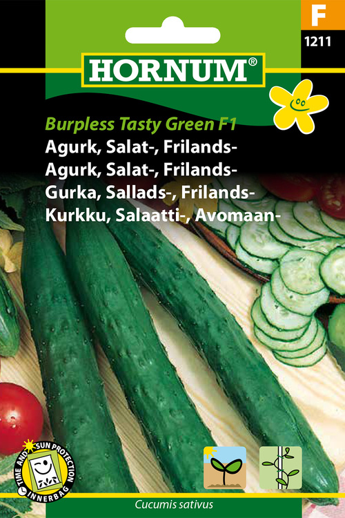 "Frilands-/Salladsgurka ""Burpless Tasty Green F1"""