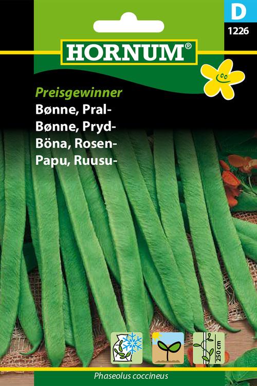"Blomsterböna ""Preisgewinner"""