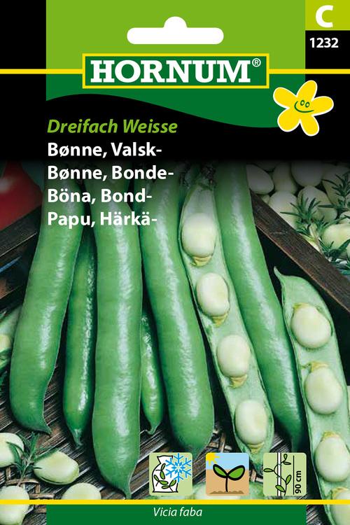 """Bondböna """"Dreifach Weisse"""""""