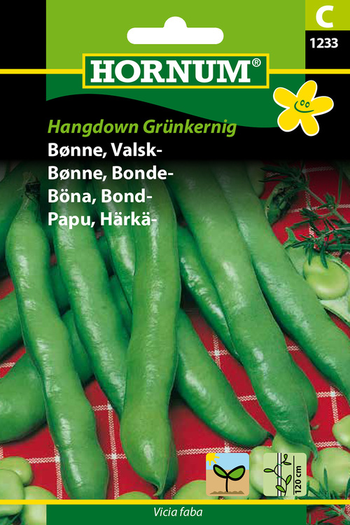 """Bondböna """"Hangdown Grünkernig"""""""