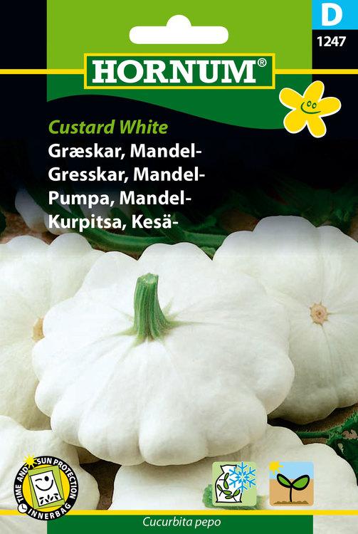 "Mandelpumpa ""Custard White"""