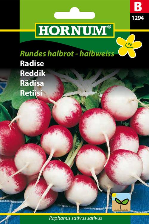 """Rädisa """"Rundes halbrot - halbweiss"""""""