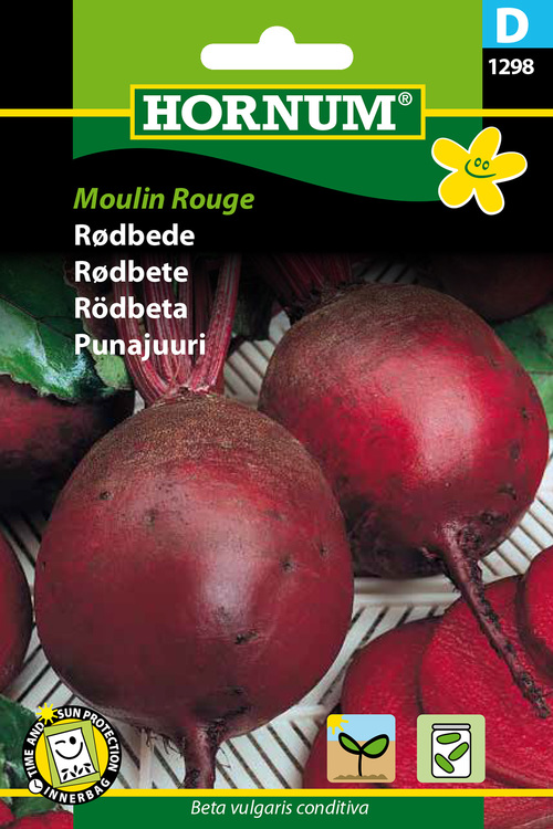 "Rödbeta ""Moulin Rouge"""