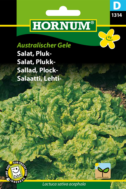 """Plocksallad """"Australischer Gele"""""""
