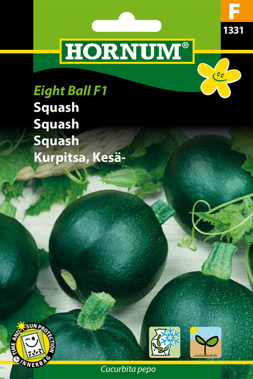 "Squash ""Eight Ball F1"""