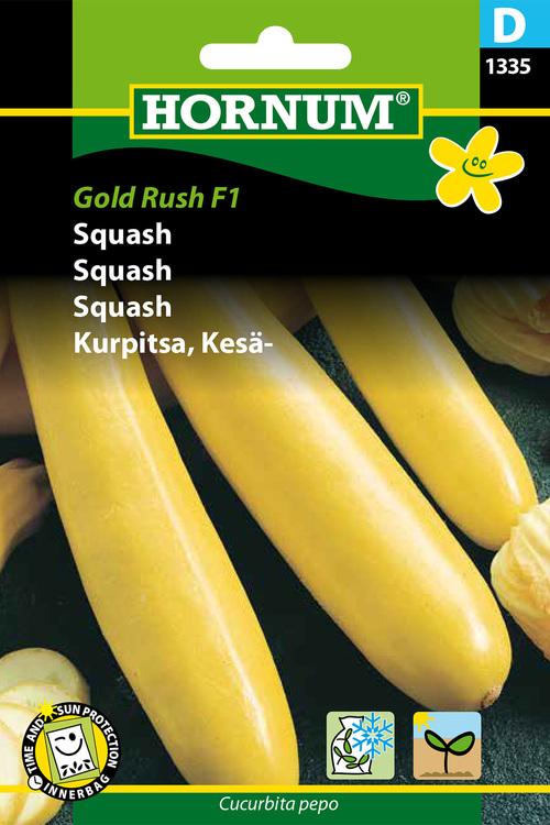 """Squash """"Gold rush F1"""""""