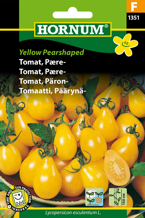 "Pärontomat ""Yellow Pearshaped"""