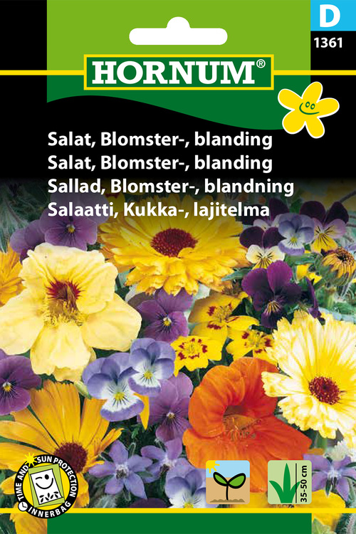 Salladsblomster - Mix