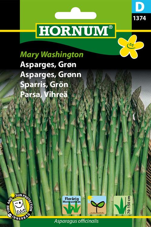 """Grön Sparris """"Mary Washington"""""""