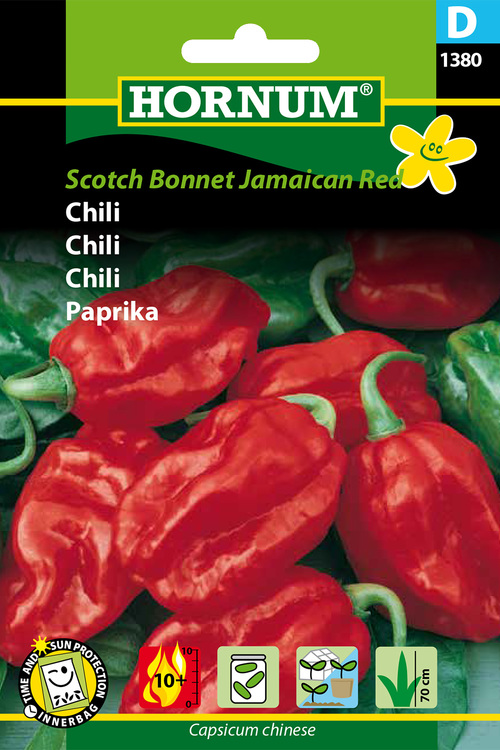 "Chili ""Scotch Bonnet Jamaican Red"""