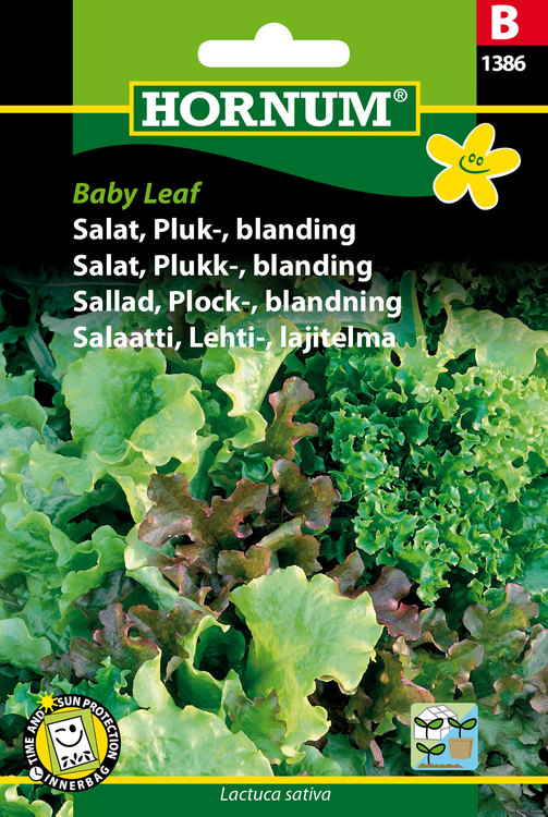 "Plocksallad, mix ""Baby Leaf"""
