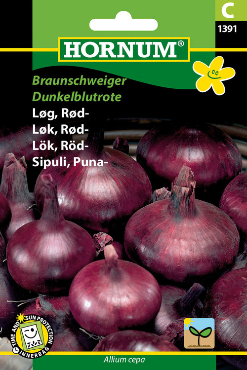 "Rödlök ""Braunschweiger, Dunkelblutrote"""