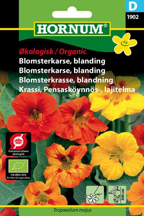 Blomsterkrasse, Mix - Eko