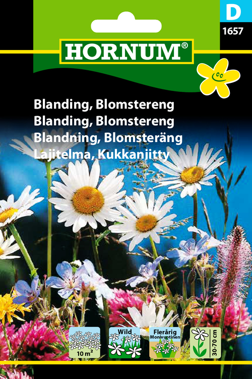 Blomsteräng, Mix