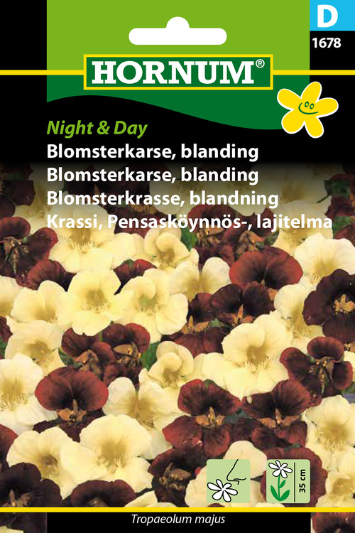 "Blomsterkrasse, mix ""Night & Day"""