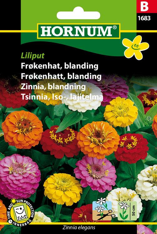 """Zinnia, Mix """"Liliput"""""""