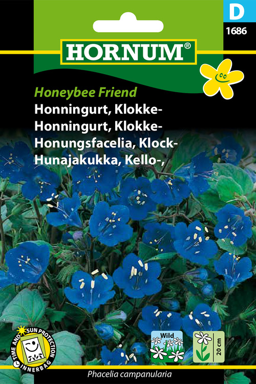 "Klock Honugsfacelia ""Honeybee Friend"""