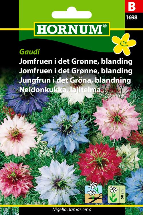 """Jungfrun i det gröna, mix """"Gaudi"""""""