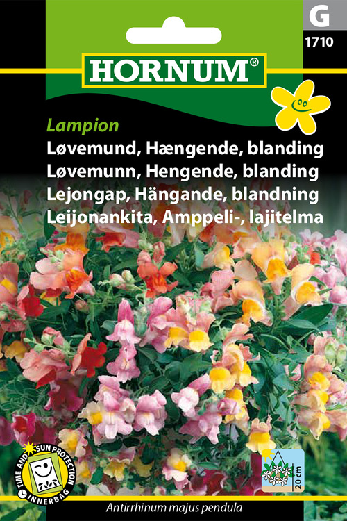 "Lejongap, hängande, mix ""Lampion"""