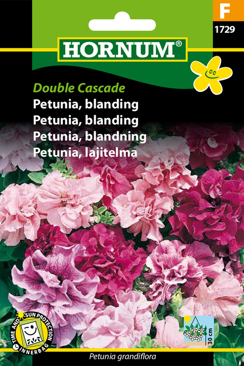 "Petunia, mix ""Double Cascade"""