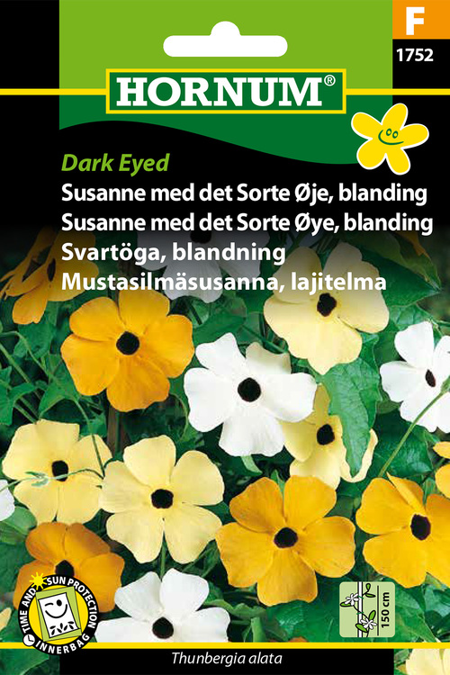 "Svartöga, mix ""Dark Eyed"""