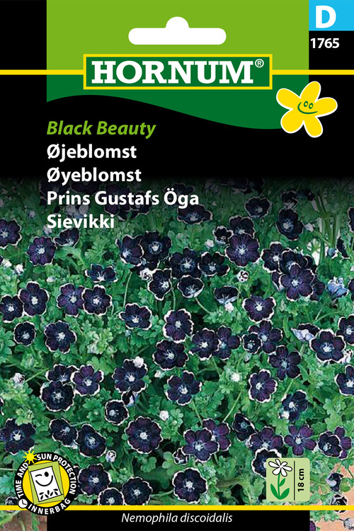 "Prins Gustavs Öga ""Black Beauty"""