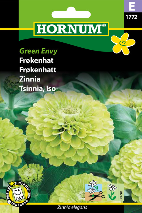 "Zinnia ""Green Envy"""