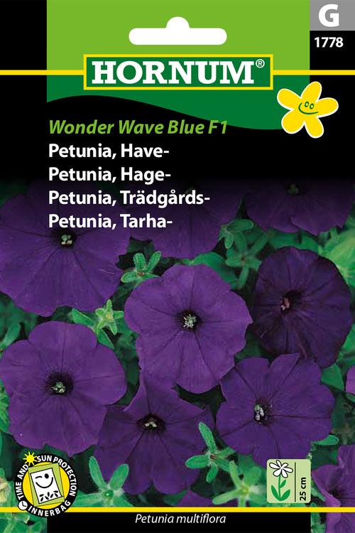 "Trädgårds Petunia ""Wonder Wave Blue F1"""