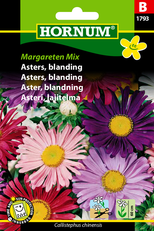 "Asters, mix ""Margareten Mix"""