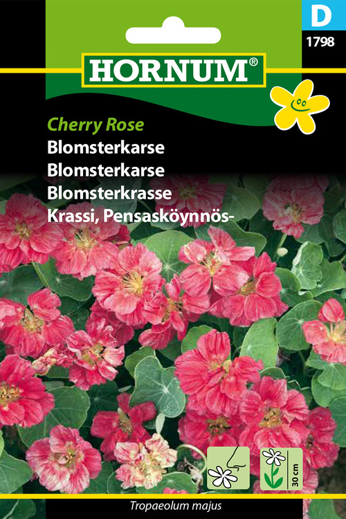 "Blomsterkrasse ""Cherry Rose"""