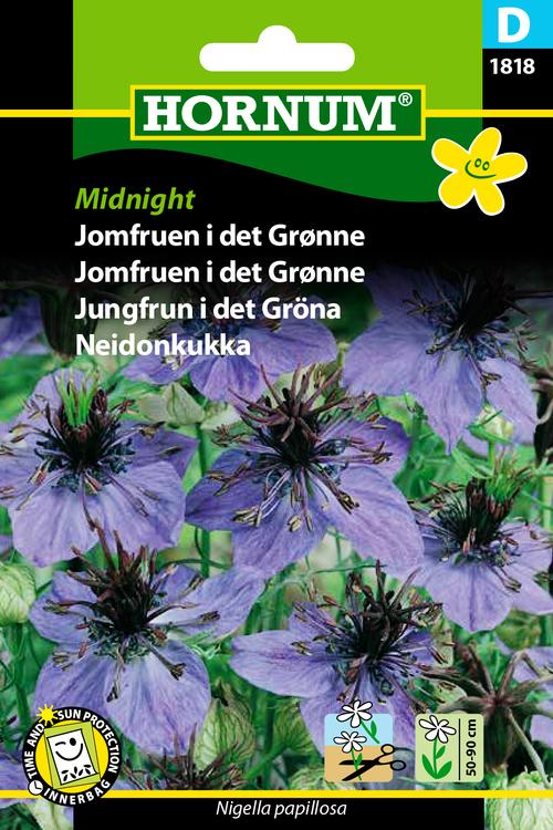 """Jungfrun i det gröna """"Midnight"""""""