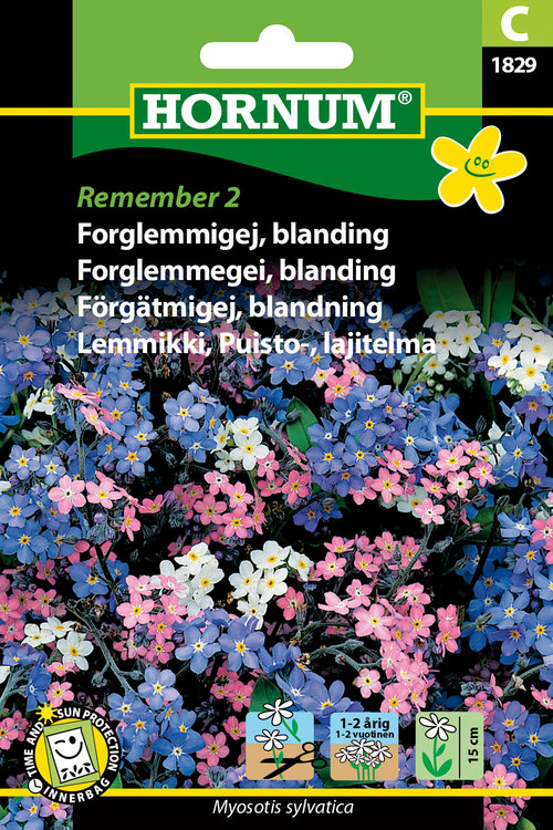 "Förgätmigej ""Remember 2"""