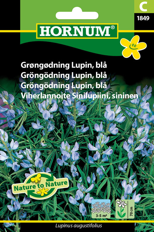Blå Lupin, Gröngödsling