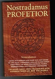 "Kopia Ohlmarks, Åke, ""Nostradamus profetior"" KARTONNAGE. (Klassikerförlaget 1999)"