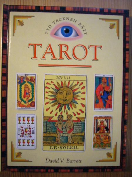 """Barrett, David V """"Tyd tecknen rätt - Tarot"""" KARTONNAGE"""