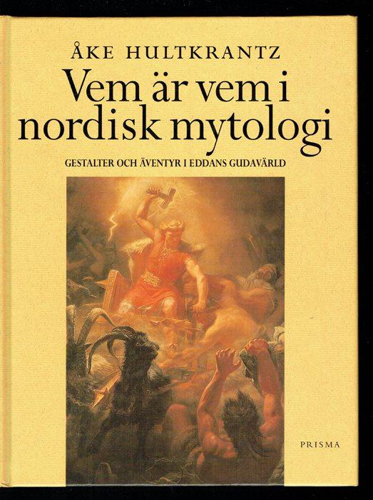 "Hultkrantz, Åke, ""Vem är vem i nordisk mytologi"" KARTONNAGE"