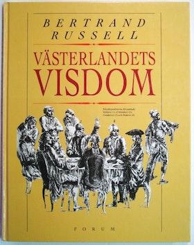"""Russell, Bertrand """"Västerlandets visdom"""" KARTONNAGE"""