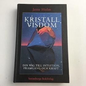 """Holm, Jette """"Kristallvisdom - din väg till intuition, framgång och kraft"""" KARTONNAGE"""
