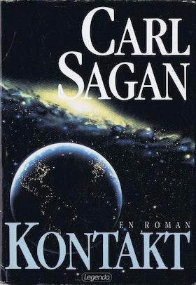 """Sagan, Carl, """"Kontakt"""" INBUNDEN"""