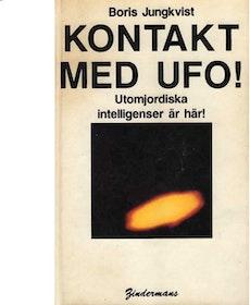 """Jungkvist, Boris, """"Kontakt med UFO"""" KARTONNAGE"""