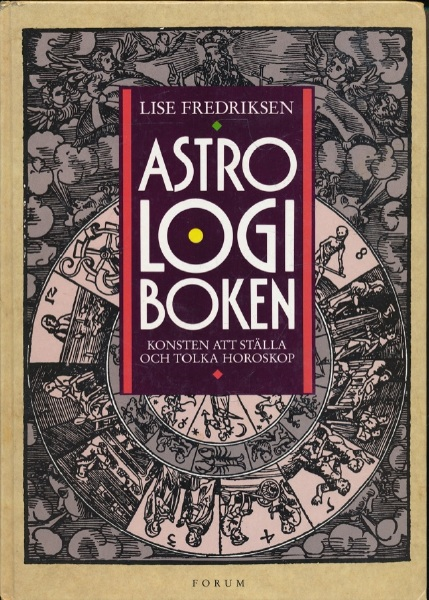"""Fredriksen, Lise, """"Astrologiboken"""" KARTONNAGE"""