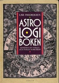 "Fredriksen, Lise, ""Astrologiboken"" INBUNDEN/KARTONNAGE"