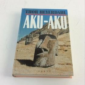 """Heyerdahl, Thor """"Aku Aku"""" KARTONNAGE"""