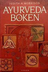 """Morrison, Judith H """"Ayurvedaboken:  En praktisk vägledning till hälsa och harmoni"""" INBUNDEN"""